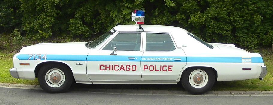 Chicago Police Car mieten